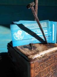 Подставка для стикеров и визиток Волга-Волга